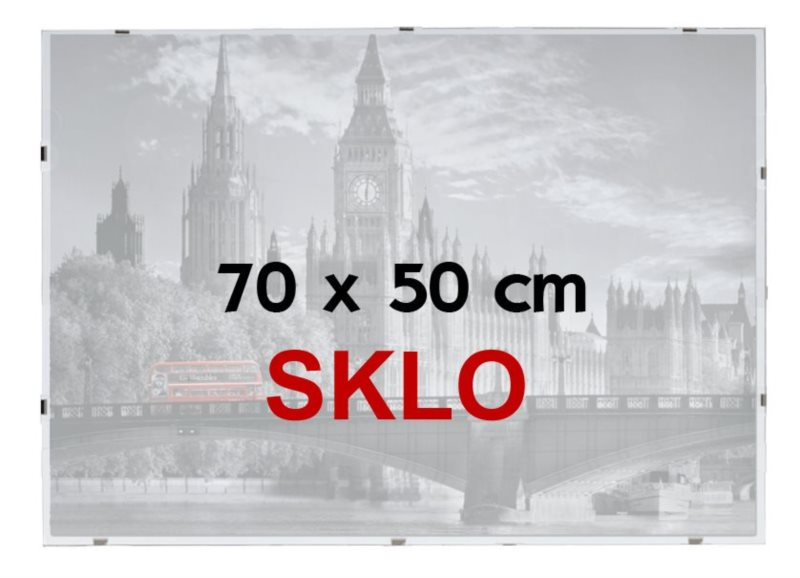 BFHM Rám na puzzle Euroclip 70x50cm (sklo)