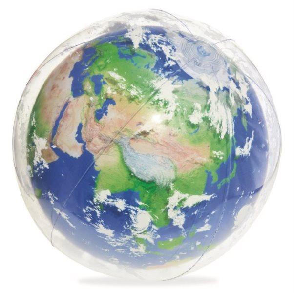 BESTWAY Svítící nafukovací balón Zeměkoule 61cm
