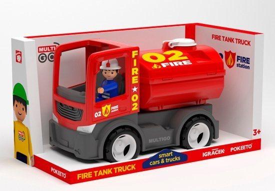 Igráček MultiGO FIRE - Cisterna s hasičem