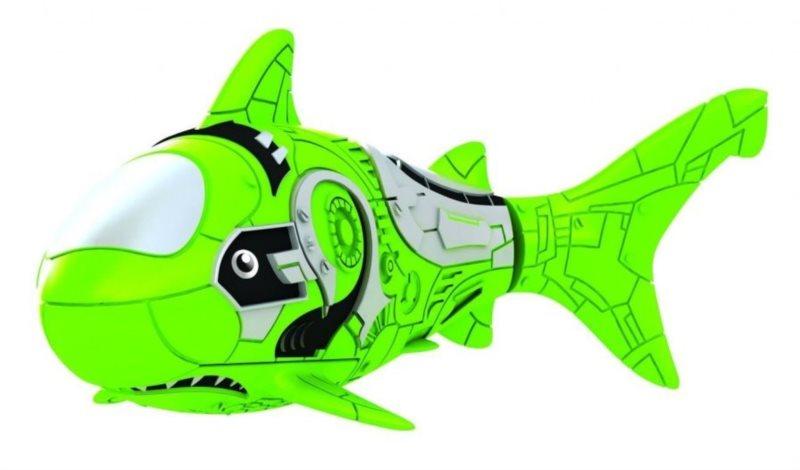ZURU Robo ryba - žralok zelený