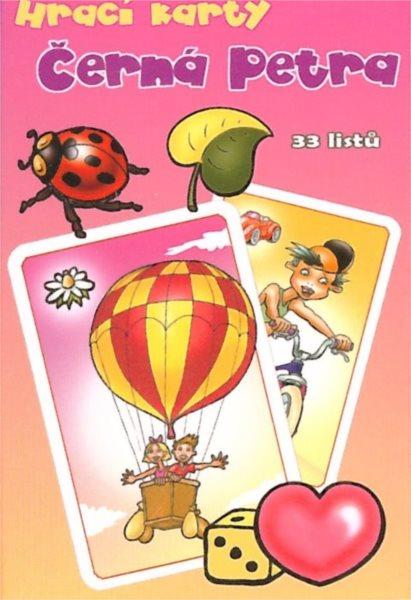Dětské karty, Černá Petra - Holky