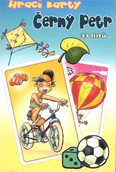 Dětské karty, Černý Petr - Kluci