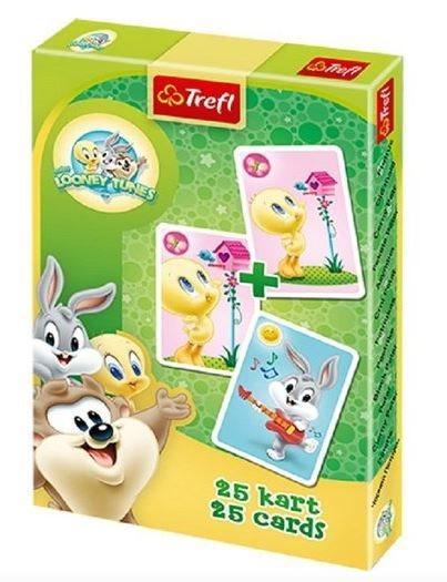 Dětské karty TREFL, Černý Petr - Baby Looney Tunes