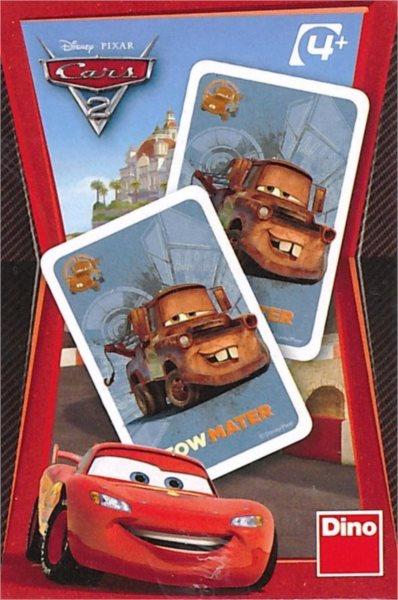 Dětské karty DINO, Černý Petr - Cars 2