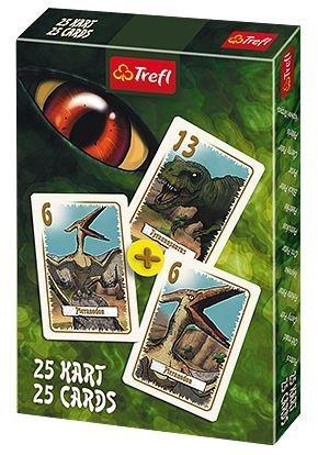 Dětské karty TREFL, Černý Petr - Dinosauři