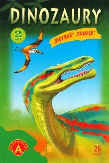Dětské karty Černý Petr - Dinosauři