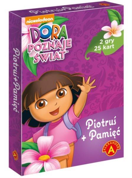 Dětské karty Černý Petr - Dora průzkumnice