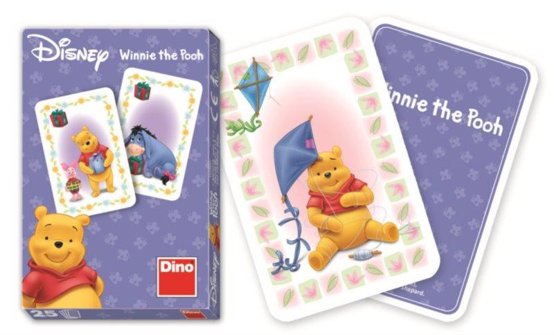 Dětské karty DINO, Černý Petr - Medvídek Pú