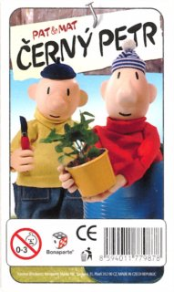 Dětské karty Černý Petr - Pat & Mat, BONAPARTE