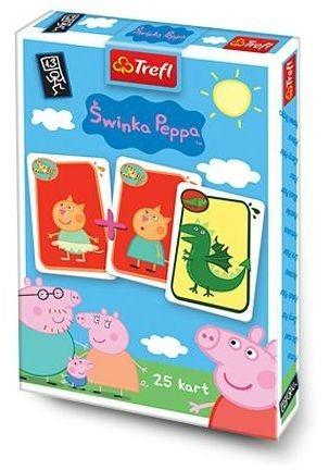 Dětské karty TREFL, Černý Petr - Prasátko Pepina