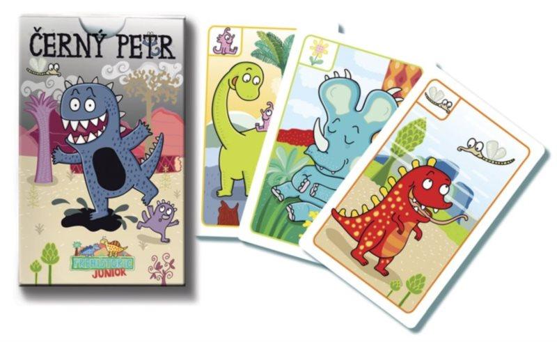 Dětské karty Černý Petr - Prehistoric Junior, BONAPARTE