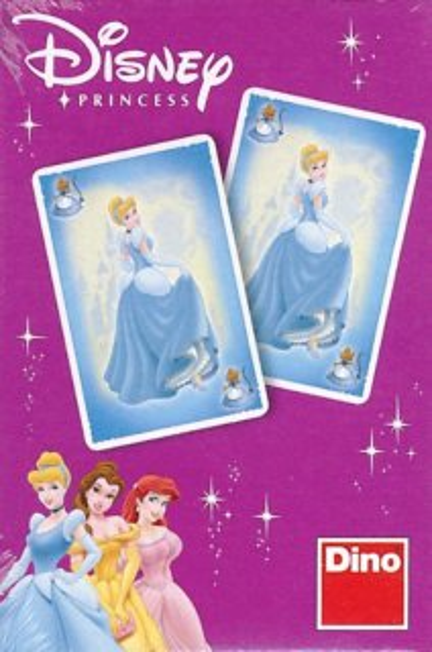 Dětské karty DINO, Černý Petr - Princezny