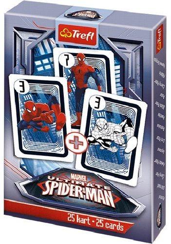 Dětské karty TREFL, Černý Petr - Spiderman