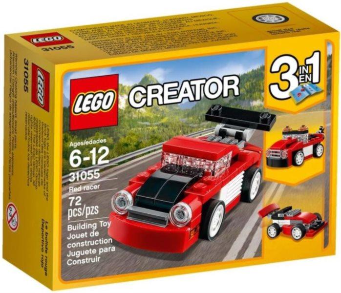 Stavebnice LEGO® Creator 31055 Červené závodní auto