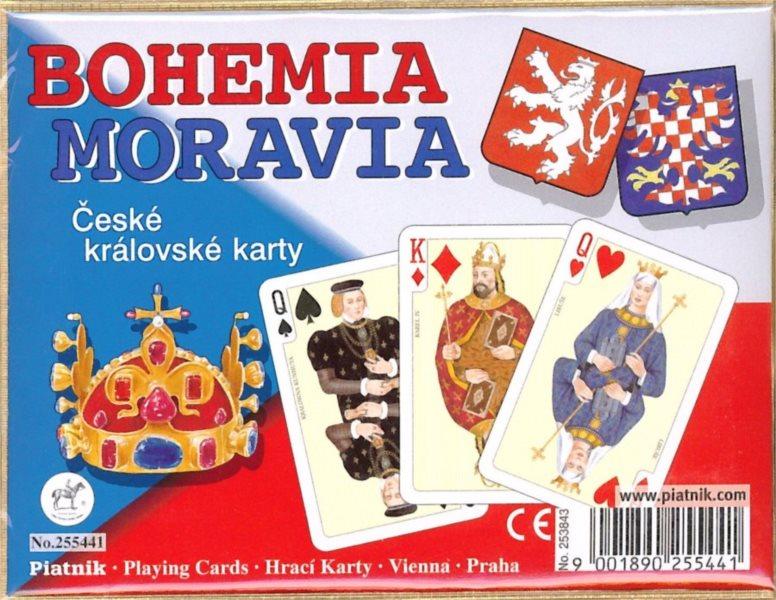 Hrací karty Žolík (Kanasta) - České královské karty, PIATNIK