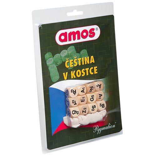 Kostková hra AMOS Čeština v kostce