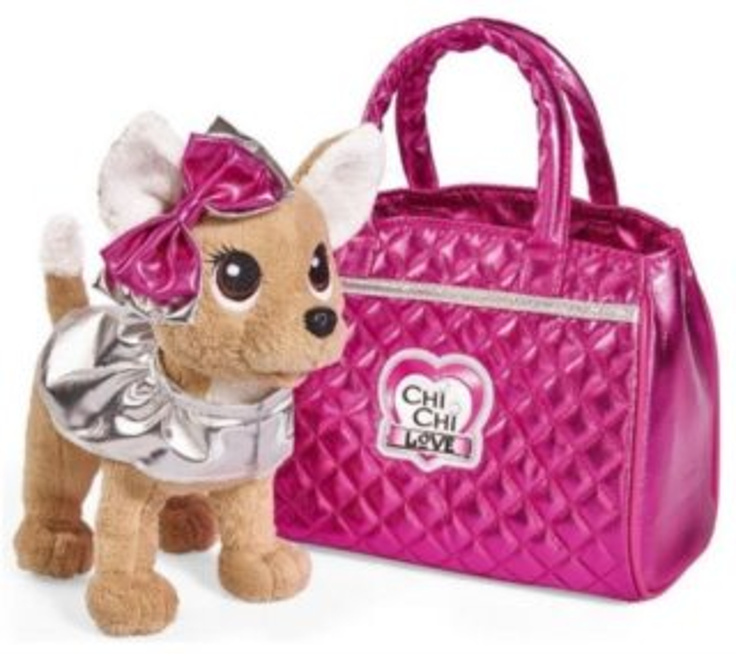 SIMBA TOYS ChiChi Love Čivava Glam Fashion v tašce