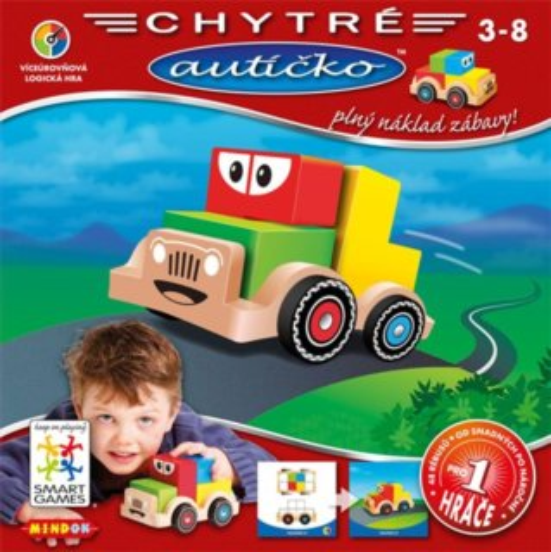 Logická hra Chytré autíčko, MINDOK
