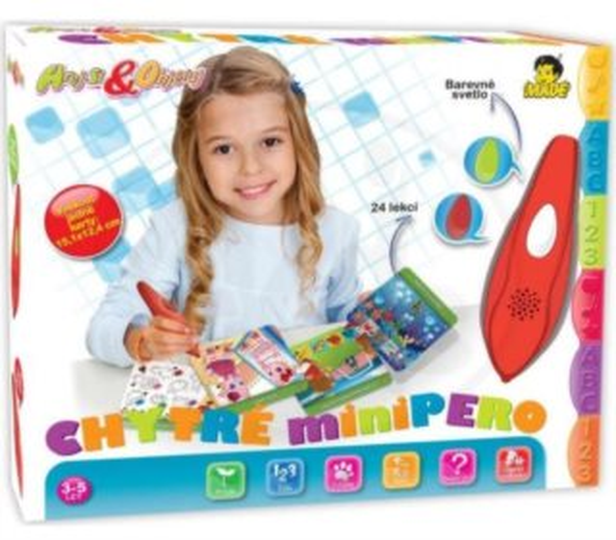 Interaktivní hra pro děti - Chytré minipero s kvízem