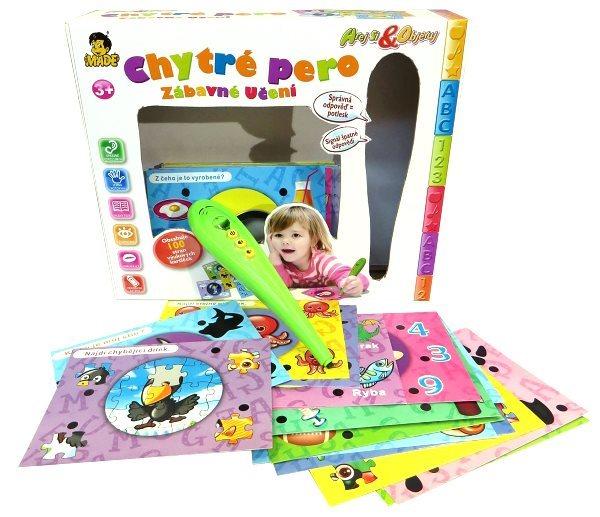 Interaktivní hra pro děti - Chytré pero II