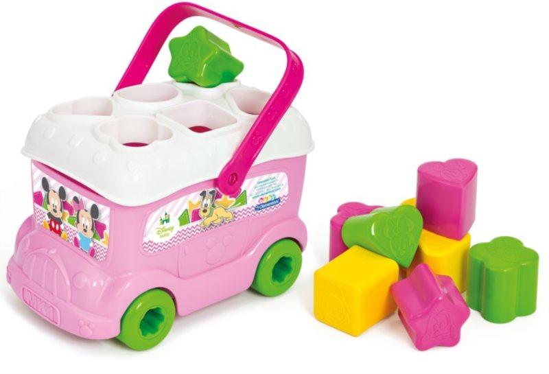 BABY CLEMENTONI, Clemmy Vkládací autíčko Minnie