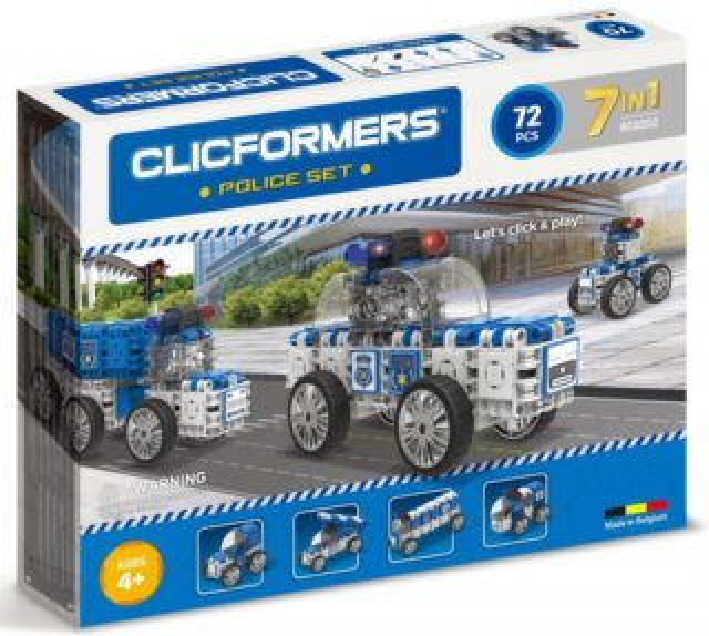 Clicformers: Policie 72 dílků