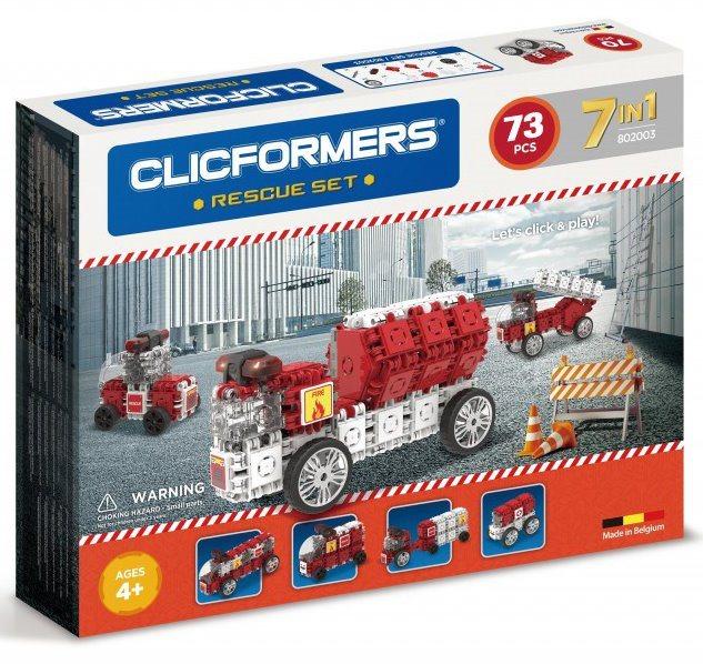 Clicformers: Záchranáři 73 dílků