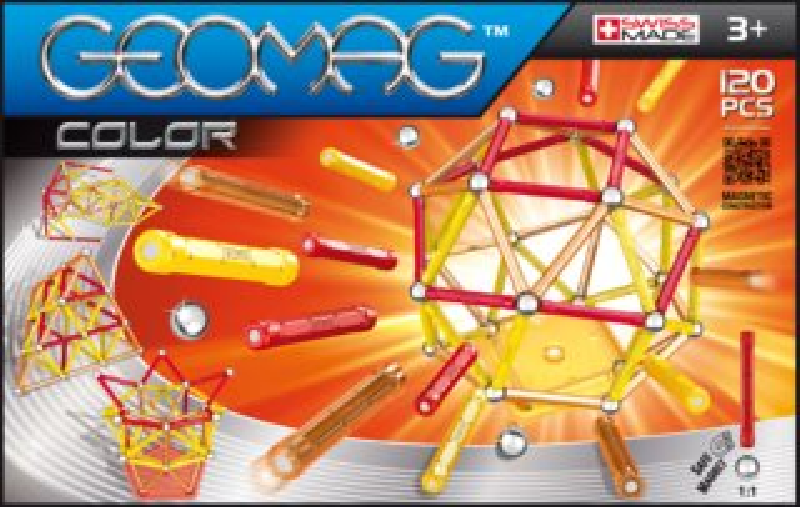 Magnetická stavebnice GEOMAG - Kids Color 120 dílků