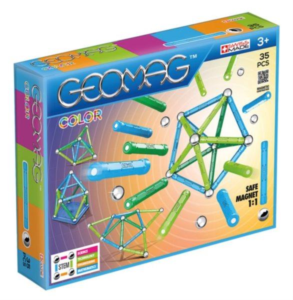 Magnetická stavebnice GEOMAG - Kids Color 35 dílků