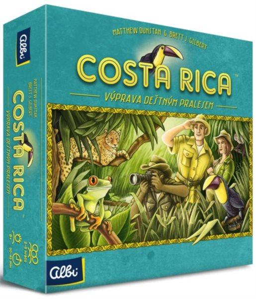 ALBI Desková hra Costa Rica