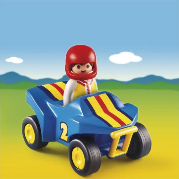 Playmobil 6782 Čtyřkolka (1.2.3)