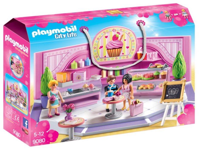 PLAYMOBIL Cukrárna Cupcake 9080