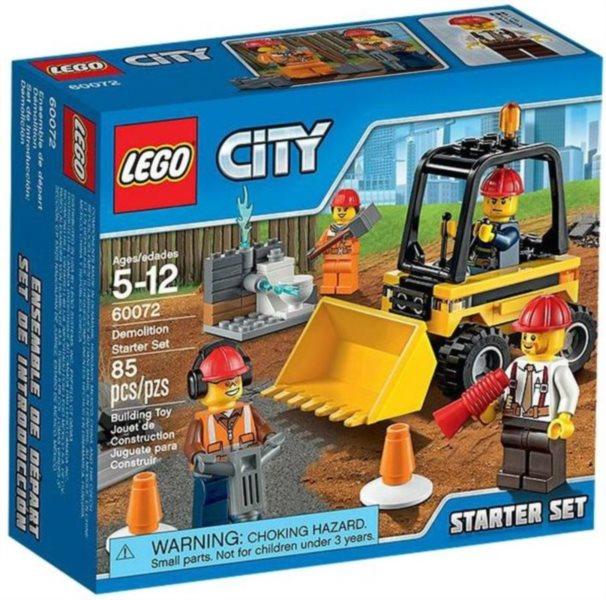 Stavebnice LEGO® City – 60072 Demoliční práce – startovací sada