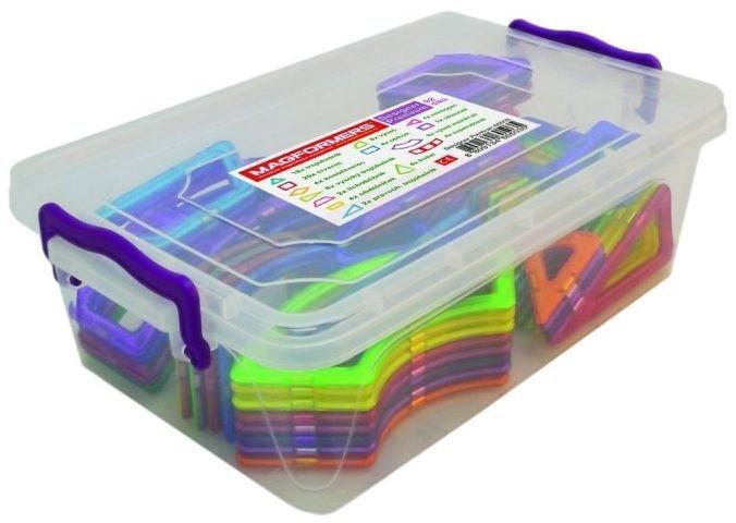 Magnetická stavebnice MAGFORMERS Designer Premium, 92 dílků