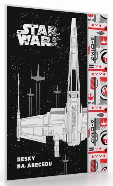 KARTON P+P Desky na abecedu Star Wars