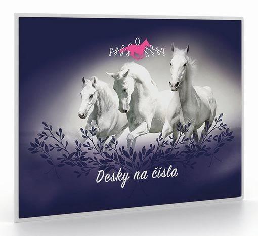 OXYBAG Desky na číslice Koně