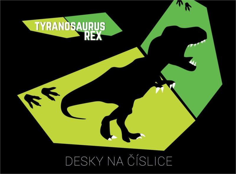 OXYBAG Desky na číslice Tyranosaurus Rex