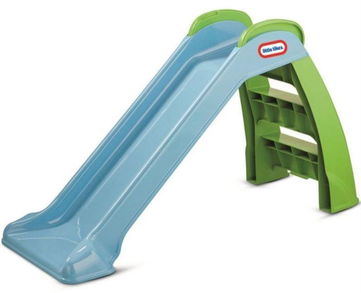 LITTLE TIKES Dětská skluzavka modrá