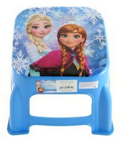 Dětská stolička Ledové království modrá