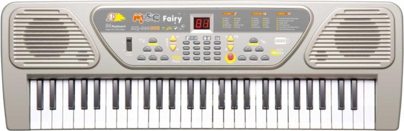 Dětské elektronické klávesy s MP3 a mikrofonem MQ-806USB