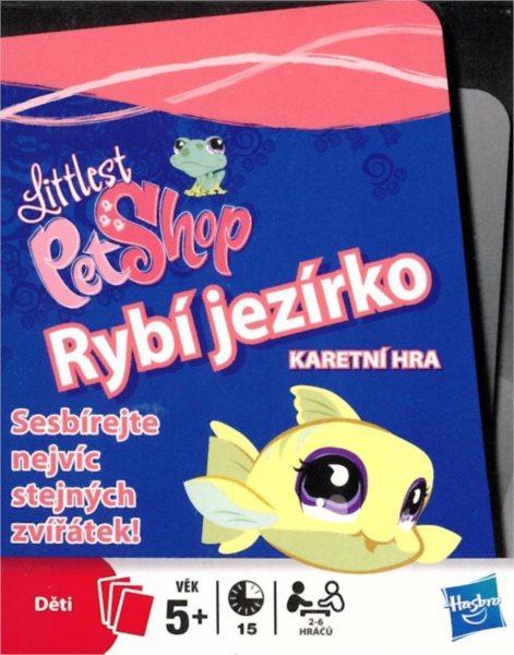 Dětské hrací karty Littlest Pet Shop - Rybí jezírko 52 listů, HASBRO