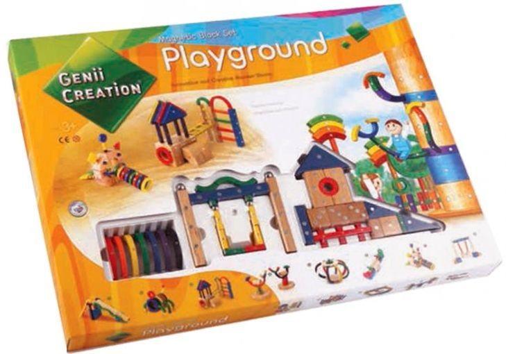 Magnetická stavebnice Genii Creation - Dětské hřiště
