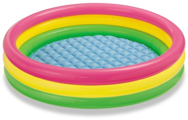 Dětský bazén INTEX - Barevný kruh (velký)