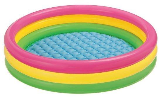 Dětský bazén INTEX - Barevný kruh (střední)