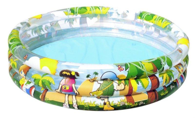 BESTWAY Dětský bazén - Džungle kruh 122 cm