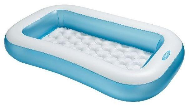 Dětský bazén INTEX - Modrobílý obdélník
