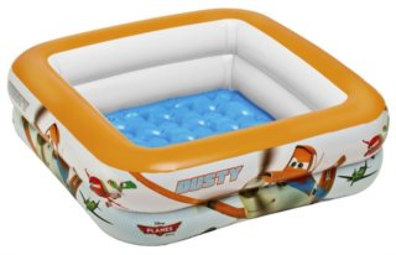 Dětský bazén INTEX - Letadla čtverec