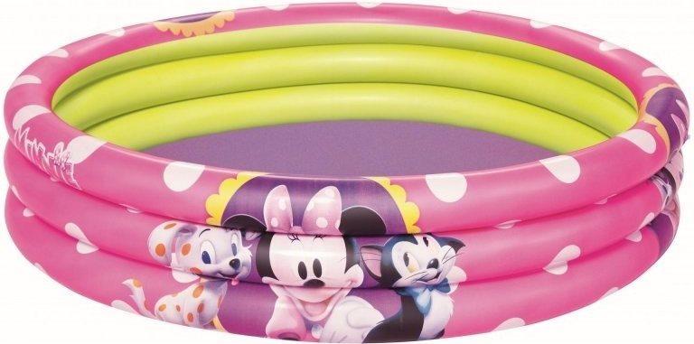 BESTWAY Dětský bazén - Minnie a zvířátka kruh 102 cm