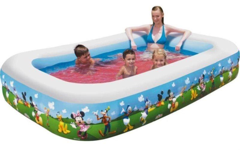 BESTWAY Rodinný bazén - Mickey Mouse obdélník