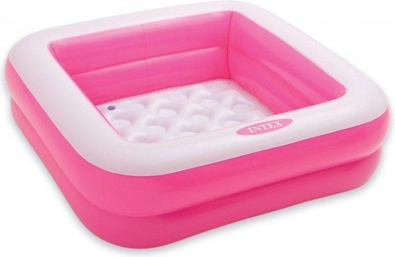 Dětský bazén INTEX - Růžový čtverec